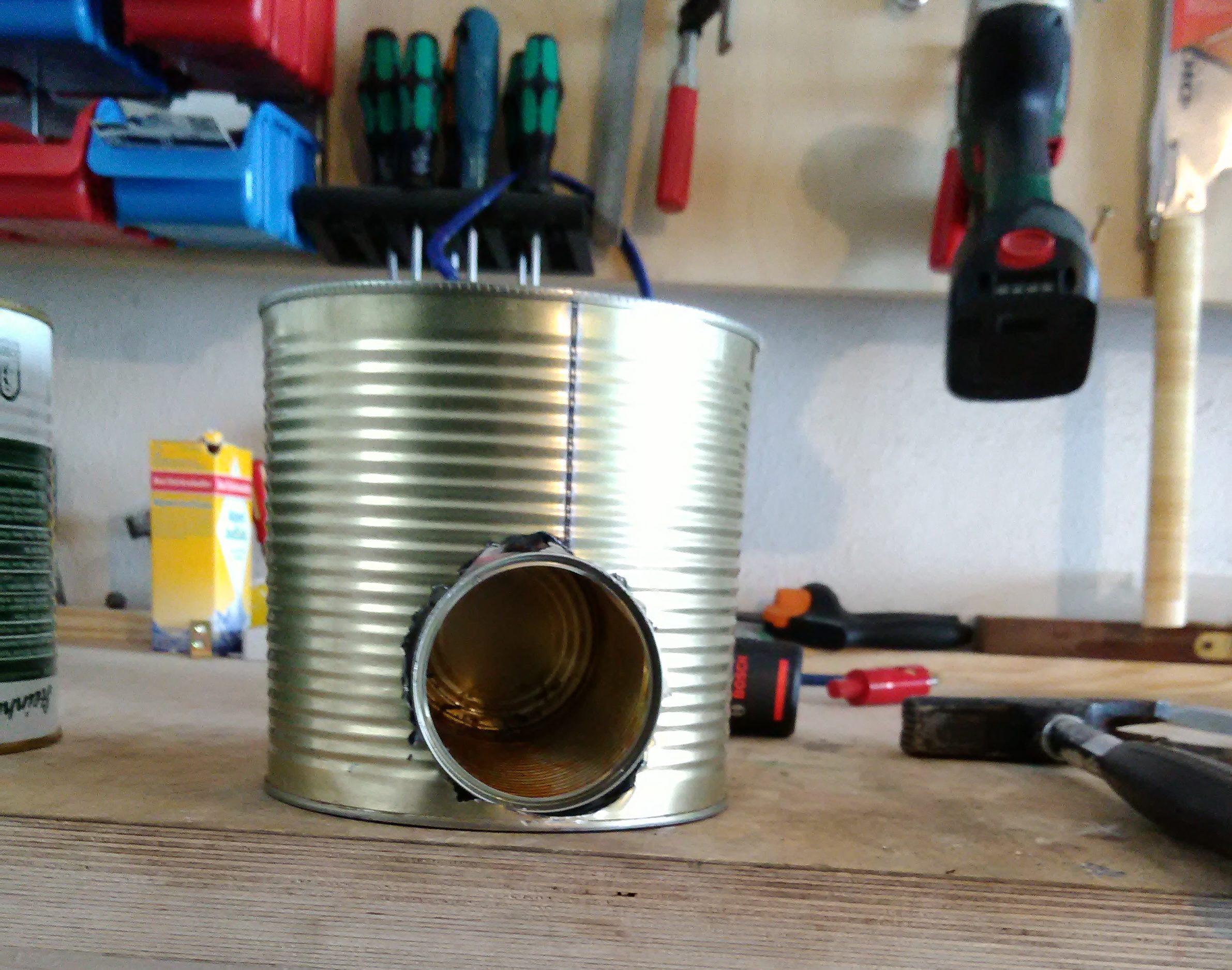 Fabulous Rocket Ofen aus Dosen (Holzvergaser) UI98
